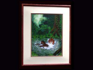 Brunka Painted Canvas BACD01