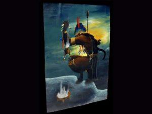 Brunka Painted Canvas BAC03