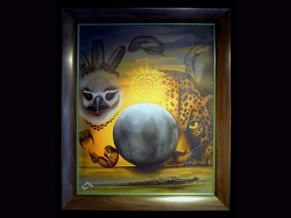 Brunka Painted Canvas BAC05