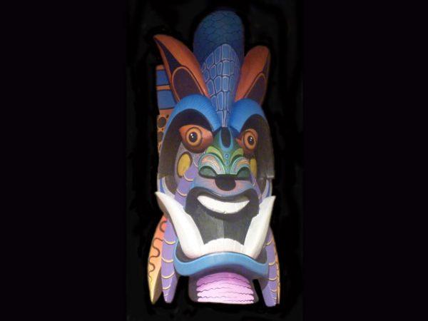 Traditional Diablo Mask 001