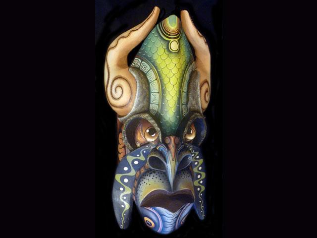 Traditional Diablo Mask 002