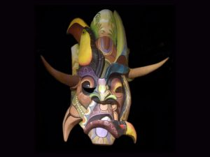 Traditional Diablo Mask 013