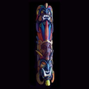 Traditional Diablo Mask 015