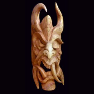 Traditional Diablo Mask 018