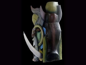 Traditional Diablo Mask 019