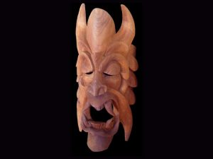 Traditional Diablo Mask 004
