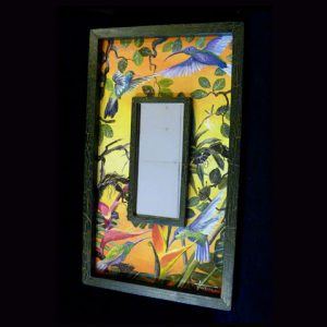 Eco-Mirror 001 (Folk Art Campos Painting 001) SOLD