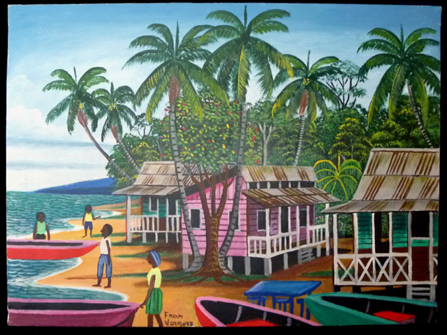 Caribbean Art CA04