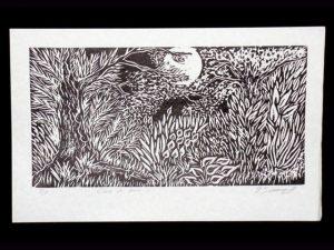 Woodcut Art WC01