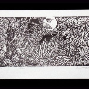Woodcut Art WC01