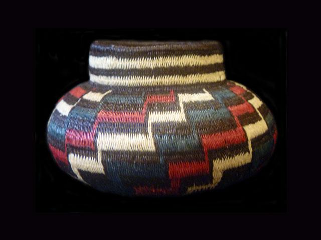Tribal Designs Basket 015 SOLD