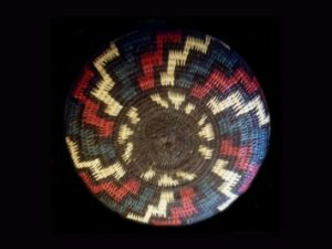 Tribal Designs Basket 015 SOLD