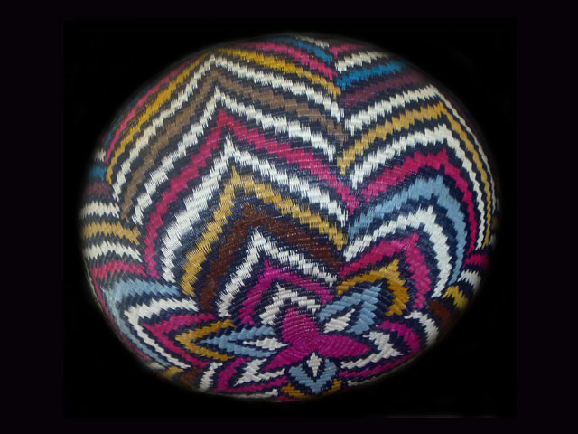 Tribal Designs Basket 001