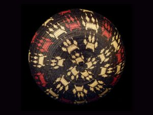 Tribal Designs Basket 005