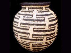 Tribal Designs Basket 009