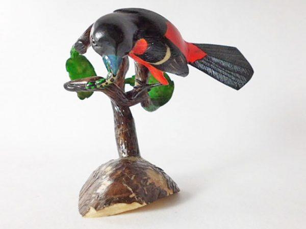Carved Tagua Bird 0004