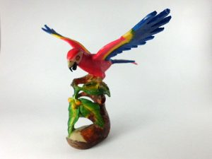 Carved Tagua Bird 0009
