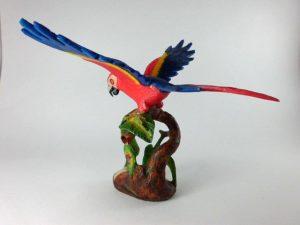 Carved Tagua Bird 0009