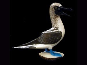 Carved Tagua Bird 0003