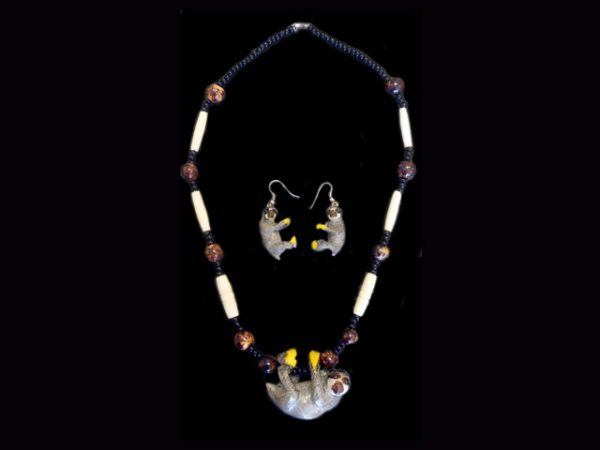 Carved Tagua Jewelry 0008