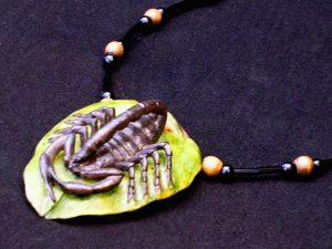 Carved Tagua Jewelry 0016