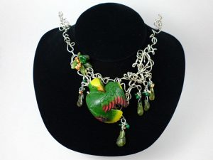 Carved Tagua Jewelry 0020