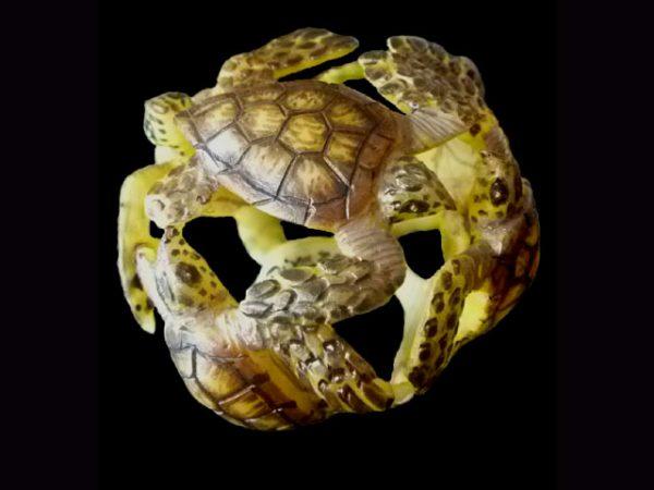 Carved Tagua Reptile 0004