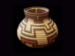 Tribal Designs Basket 016