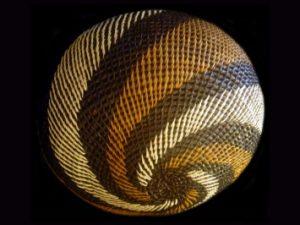 Tribal Designs Basket 018 SOLD
