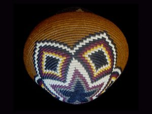 Tribal Designs Basket 002