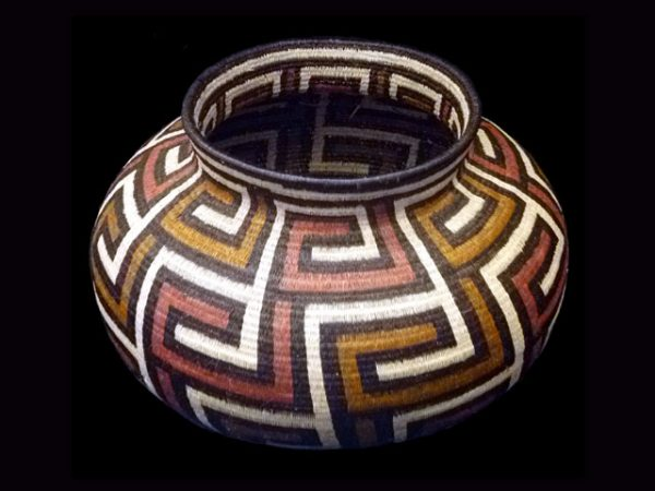 Tribal Designs Basket 008