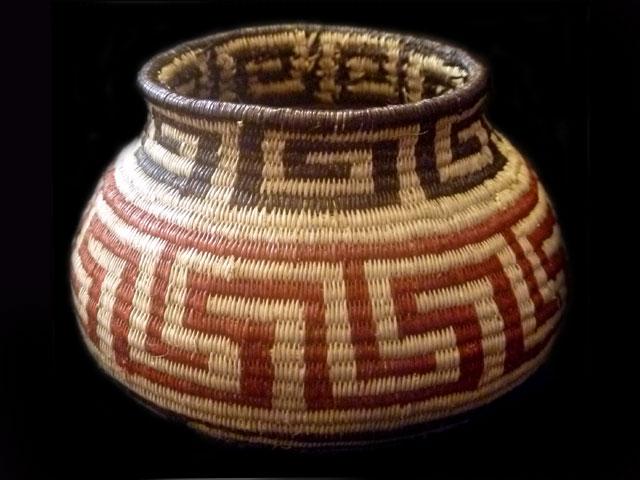 Tribal Designs Basket 012